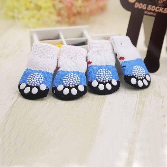 Носки для собак с не скользящим покрытием 1