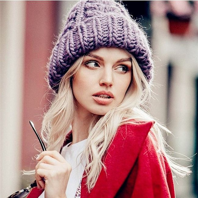 Damska zimowa czapka WC235 1