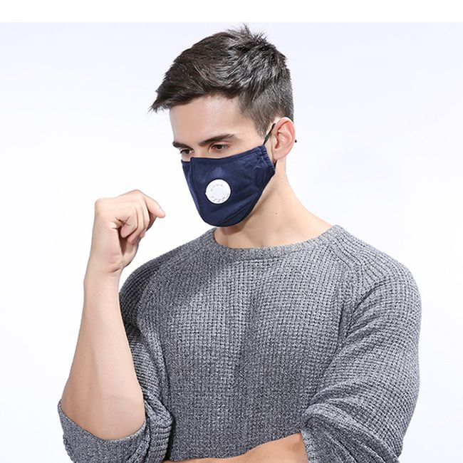 Медицинская маска с вентилем KO5 1
