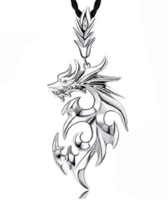 Náhrdelník s drakem 1