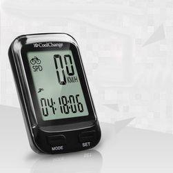 Kerékpáros digitális sebességmérő számos más funkcióval