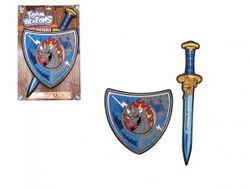 Meč se štítem pěnový 53cm na kartě RM_00850047