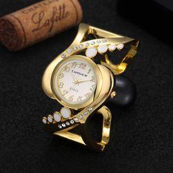 Dámské náramkové hodinky - zlatá barva