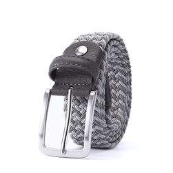 Pánský pásek s kovovou sponou - 4 varianty, 13 délek
