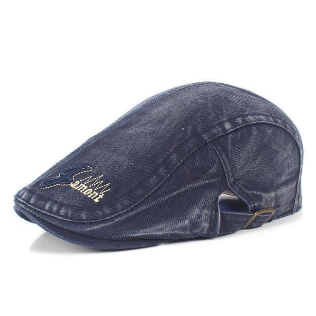 Pánská golfová čepice - modrá 1