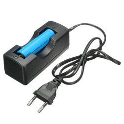 Li-ion 18650 baterija za punjenje sa punjačem - 3,7 V