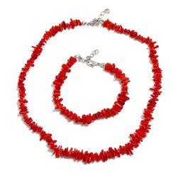 Ženska ogrlica sa narukvicom DNN457