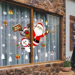 Новогодняя оконная наклейка Christmas