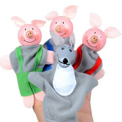 Кукли за пръсти - 4 бр