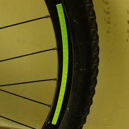 Odblaskowe naklejki rowerowe - 4 kolory