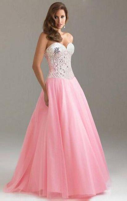 Dámské šaty Kaylie - Růžová-velikost č. 2 1