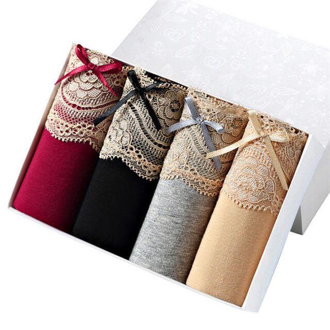 4 kusy pohodlného spodního prádla 1