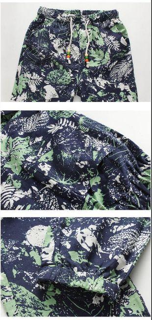 Plátěné kalhoty pro volný čas - více variant