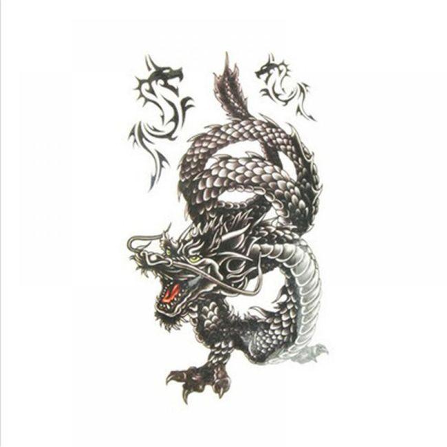 Privremena tetovaža - zmajevi 1