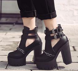Дамски обувки на платформа Kimora