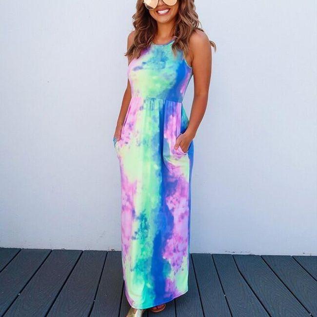 Dámské maxi šaty Nina 1