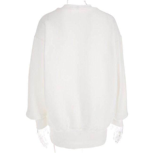 Hosszú női pulóver Flores