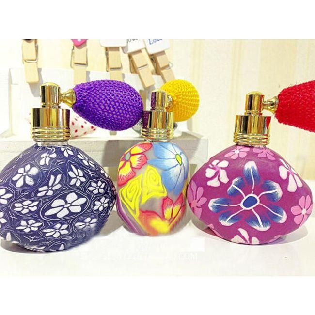 Flakonik na perfumy w oryginalnym  designu z balonikiem 1