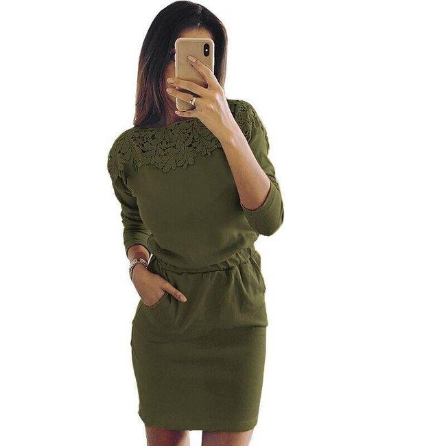Női hosszú ujjú ruha Sarina