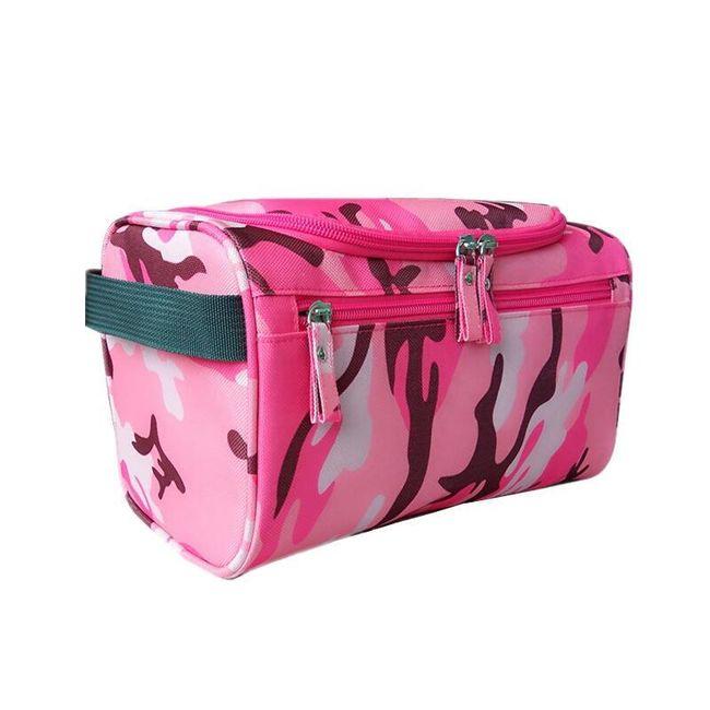 Unisex kosmetická taška s možností zavěšení 1