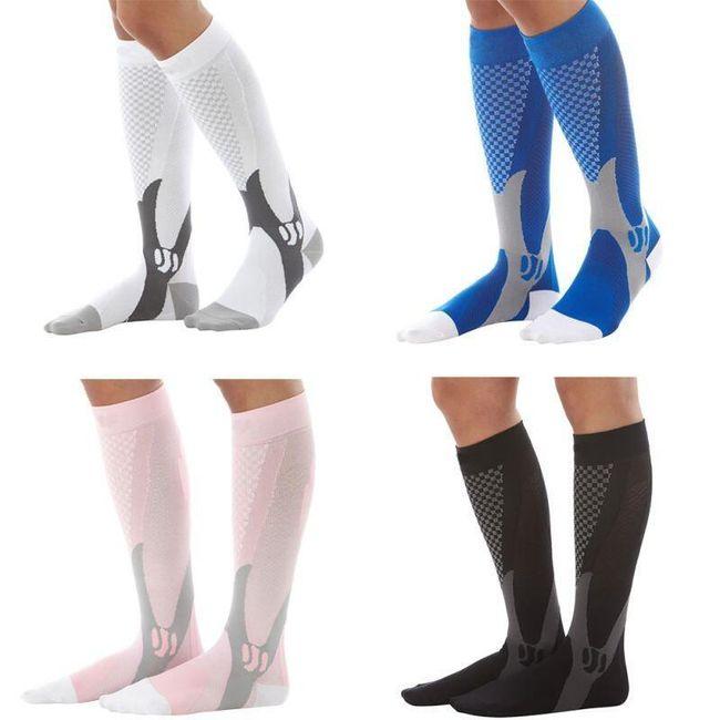 Kompressziós zokni - 4 szín