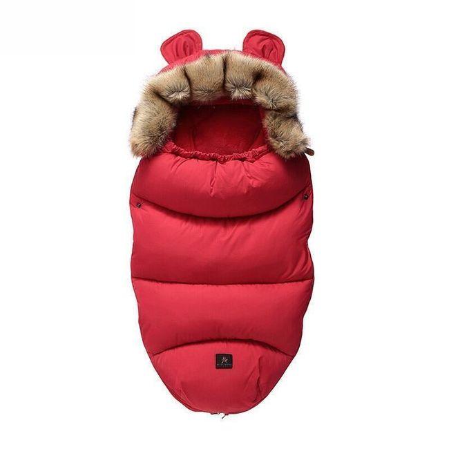 Zimowa kurtka polarowa SQWE8 1