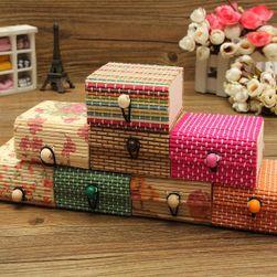 Kutija za nakit od bambusovog drveta