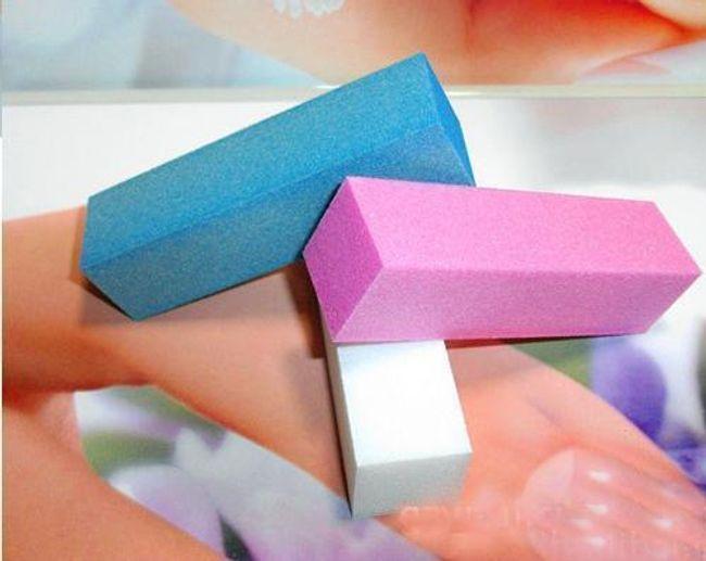 Sada pilníků na nehty - 3 kusy 1