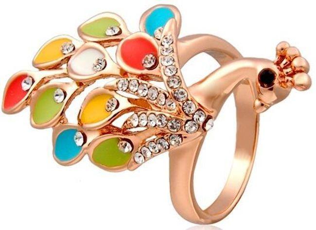 Prsten s pávem 1