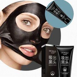 Пилинг маска за премахване на черни точки - черна маска