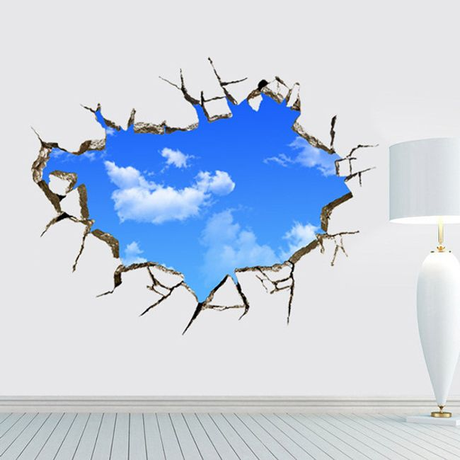 3D fali matrica - tiszta égbolt 1