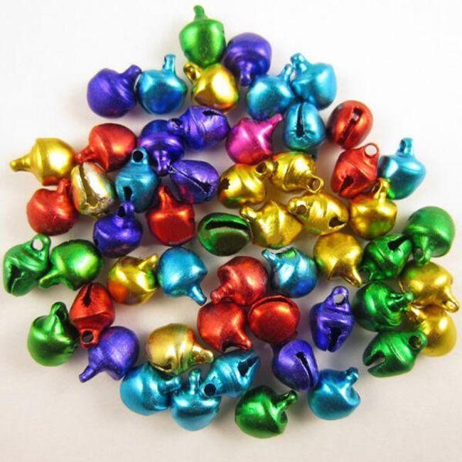 Paket 100 zvonov - različnih barv 1