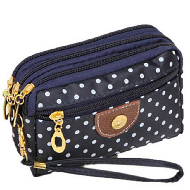 Dámská kabelka s puntíky - 6 barev 1