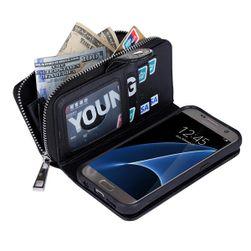 Multifunkční peněženka a pouzdro 2 v 1 pro Samsung Galaxy S7