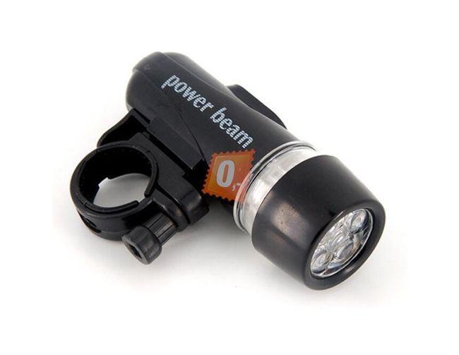 LED přední svítilna na kolo 1