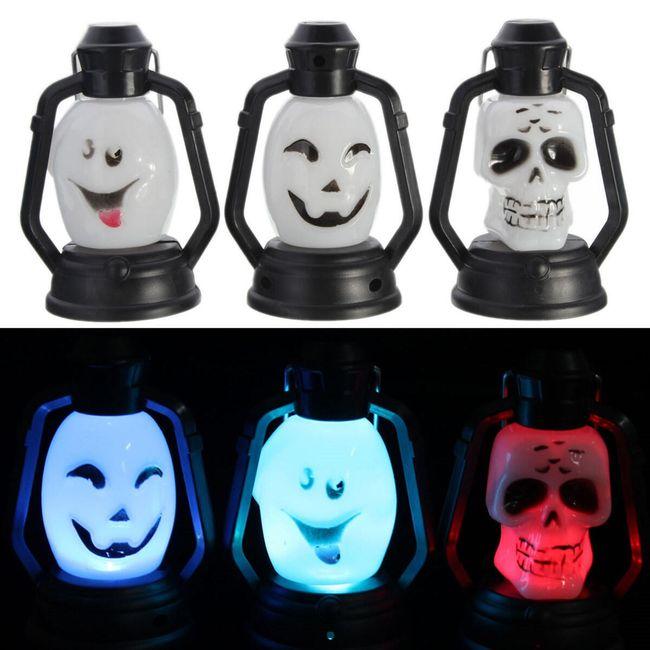 LED svetilka v halloweenskem slogu  1