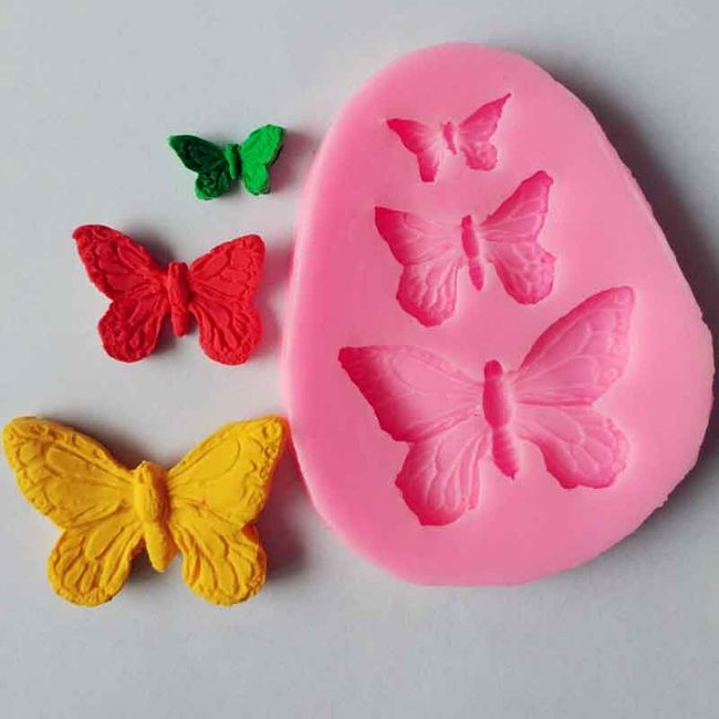 Forma de silicon fluturi 1