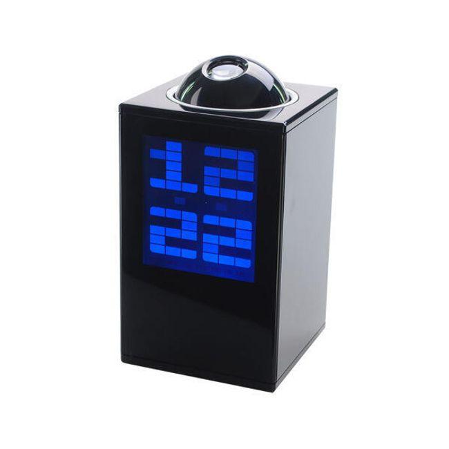 LED digitální budík s projekcí  - 2 barvy 1