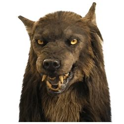 Maska za noč čarovnic Wevewolf