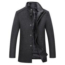 Мъжко палто с разкопчаваща се жилетка Henrik
