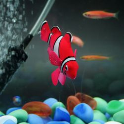 Ozdobna świecąca sztuczna rybka do akwarium