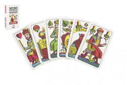 Mariáš MINI jednohlavý společenská hra karty v papírové krabičce 4,5x7cm RM_10401651