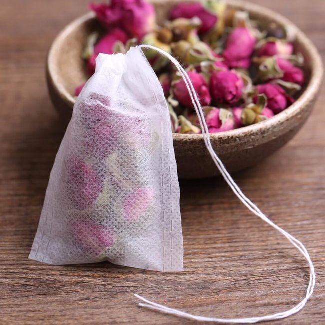 Prazne čajne vrečke - 100 kosov 1