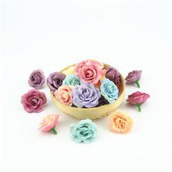 Mesterséges mini rózsák - 10 darab