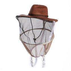 Klobouk se sítí pro ochranu před hmyzem