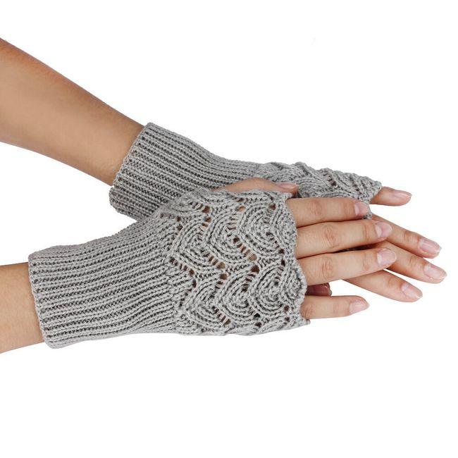 Pletené rukavice - 7 barev 1