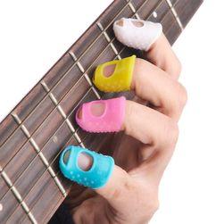 Ochraniacze palców do gry na instrumentach strunowych - 4 sztuki