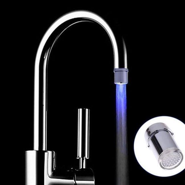 Vodu obarvující kohoutek 2