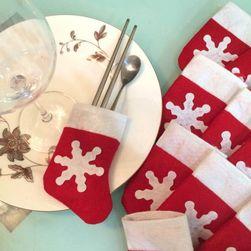 Set Božićnih mini čarapa za pribor - 12 komada