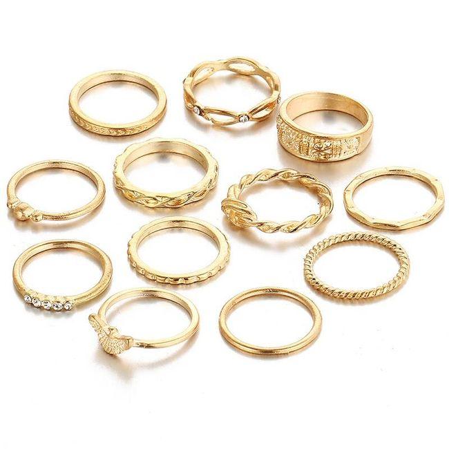 Komplet pierścionków dla kobiet 1